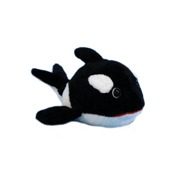 Pluche orka knuffel 13 cm speelgoed