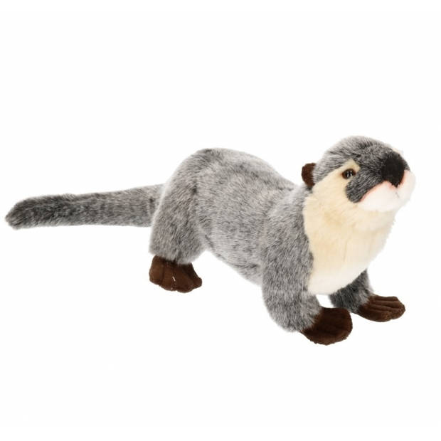 Pluche Rivier otter knuffel 28 cm - dieren knuffels