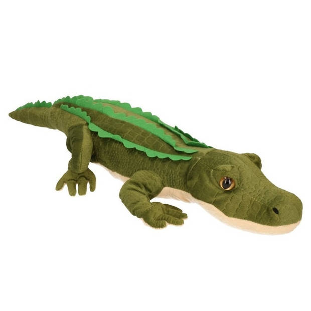 Pluche knuffel krokodil 70 cm