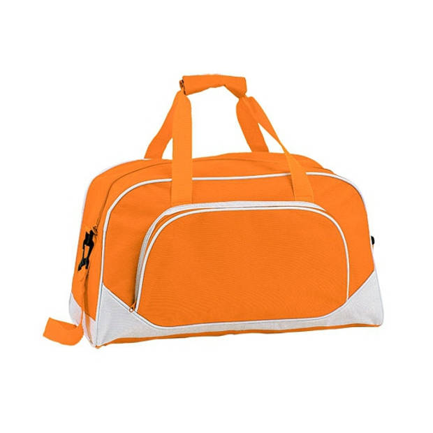 Oranje sporttas 42 cm