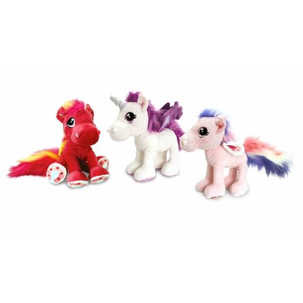 Keel Toys pluche paard knuffel rood 30 cm