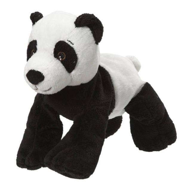 Pluche panda beer knuffel van 22 cm - panda knuffels speelgoed