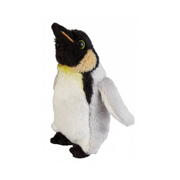 Pluche koningspinguin knuffel van 15 cm - pinguin knuffelbeesten