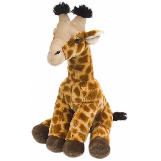 Pluche baby giraffe knuffeldier van 30 cm - Speelgoed dieren knuffels - Safaridieren