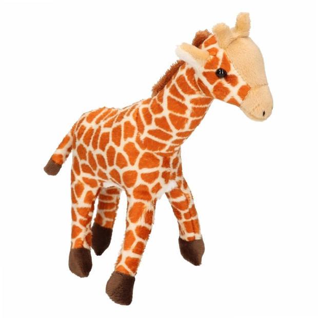 Pluche giraffe knuffel 24 cm