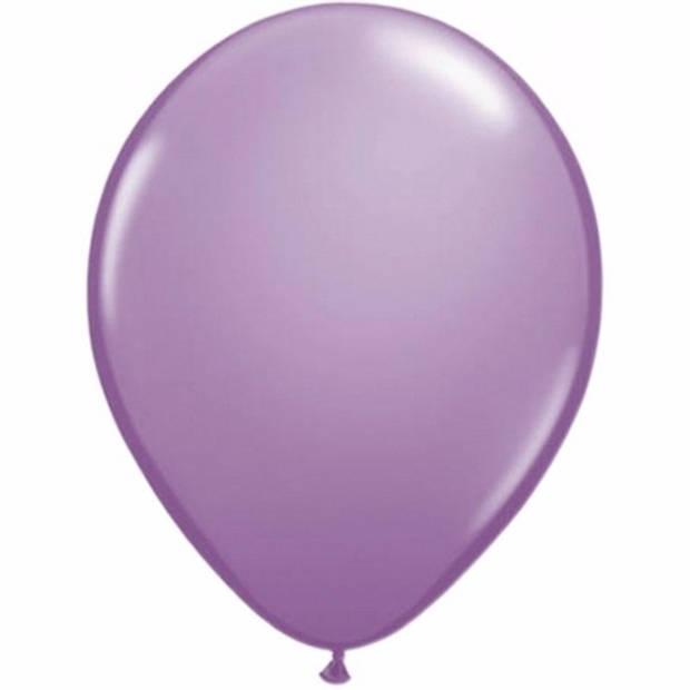 Lavendel ballonnen 25 stuks