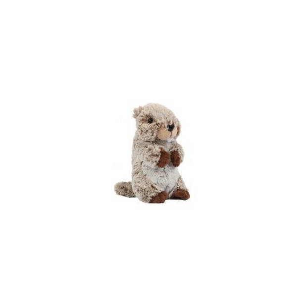 Pluche marmot knuffel 22 cm - knuffeldieren/knuffelbeesten
