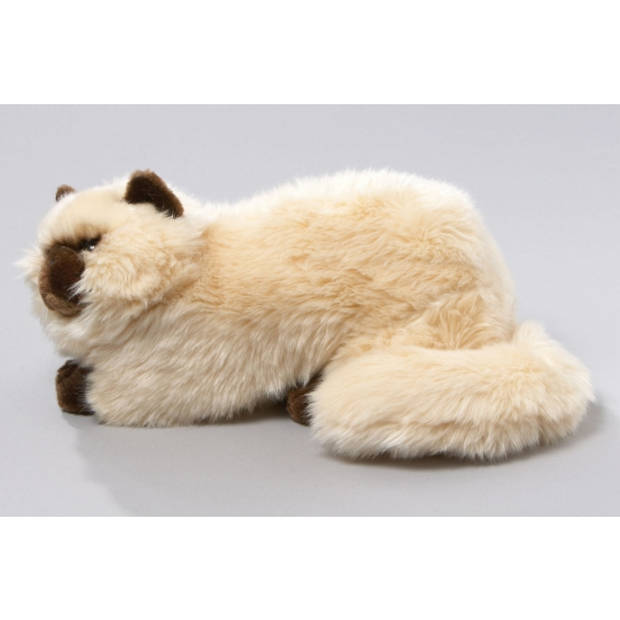 Pluche Perzische Colourpoint katten/poezen knuffel 30 cm - luxe kat/poes voor kinderen