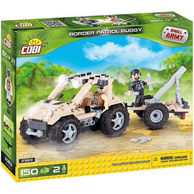 Cobi small army - border patrol buggy (2363)