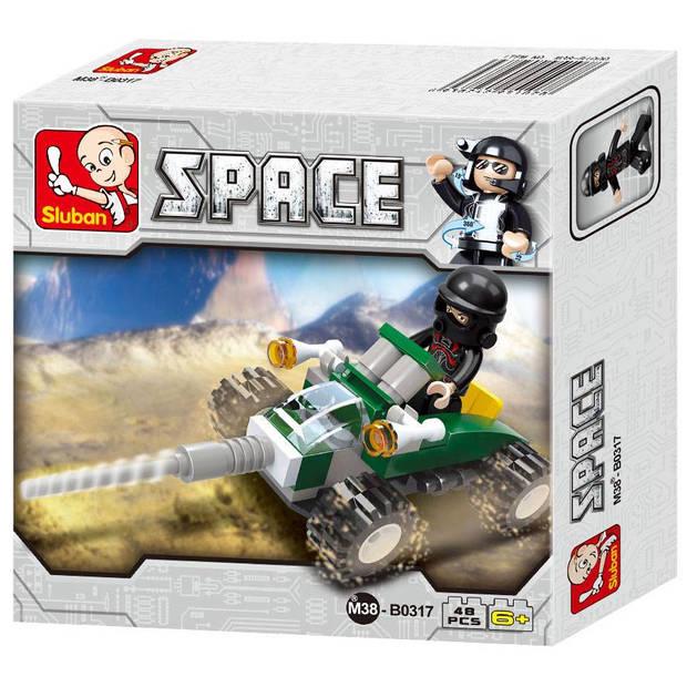 Sluban Space - Space Quad M38-B0317