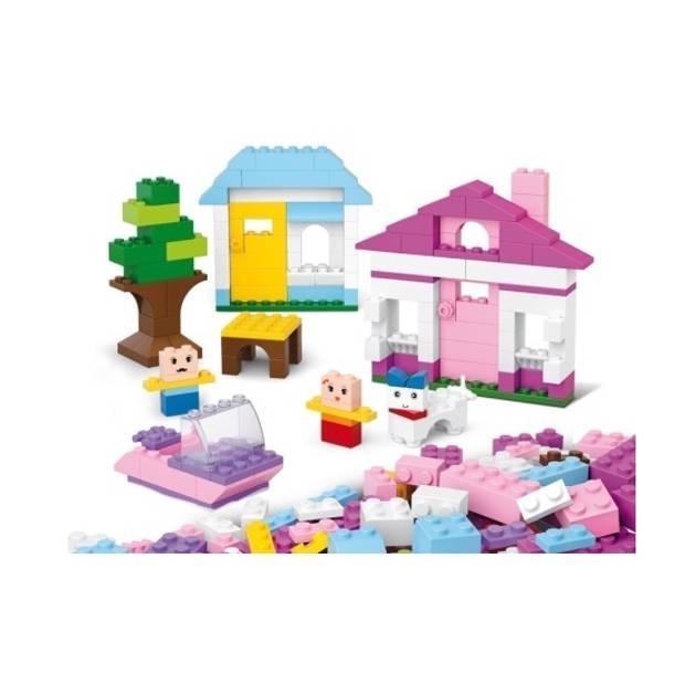 Sluban basis steentjes bouwset voor meisjes
