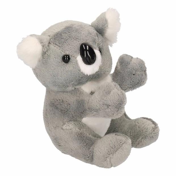Pluche koala knuffel beer 14 cm - knuffelberen voor kinderen