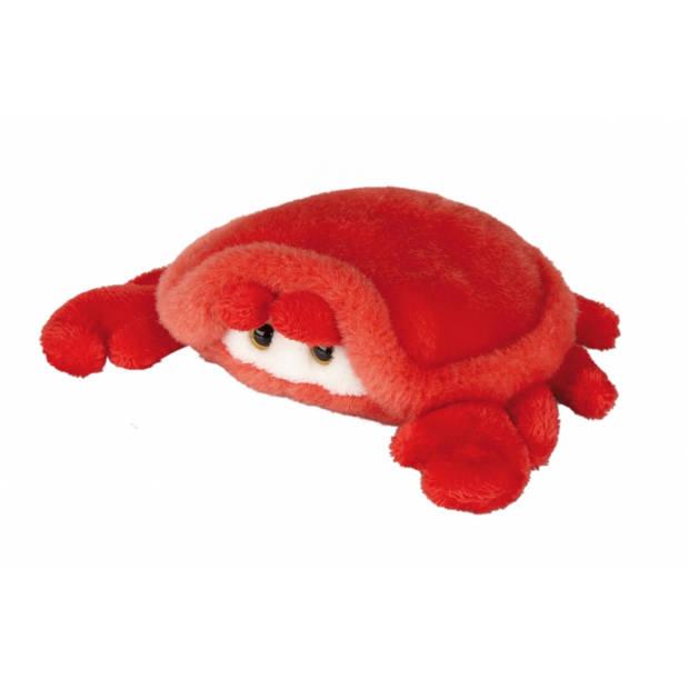 Pluche krab knuffel 15 cm