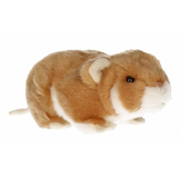 Pluche hamster knuffeltje 18 cm
