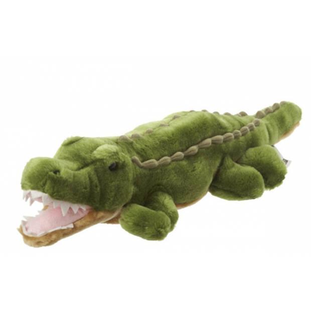 Pluche krokodil knuffel 48 cm - knuffelbeesten van krokodillen