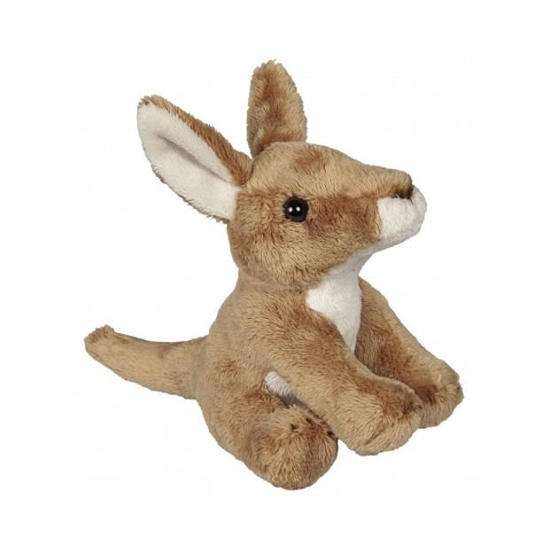 Pluche kangoeroe knuffel 15 cm
