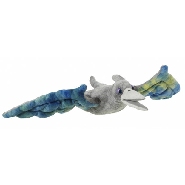 Pterosaurus dinosaurus knuffel 48 cm - speelgoed dinosaurussen knuffels