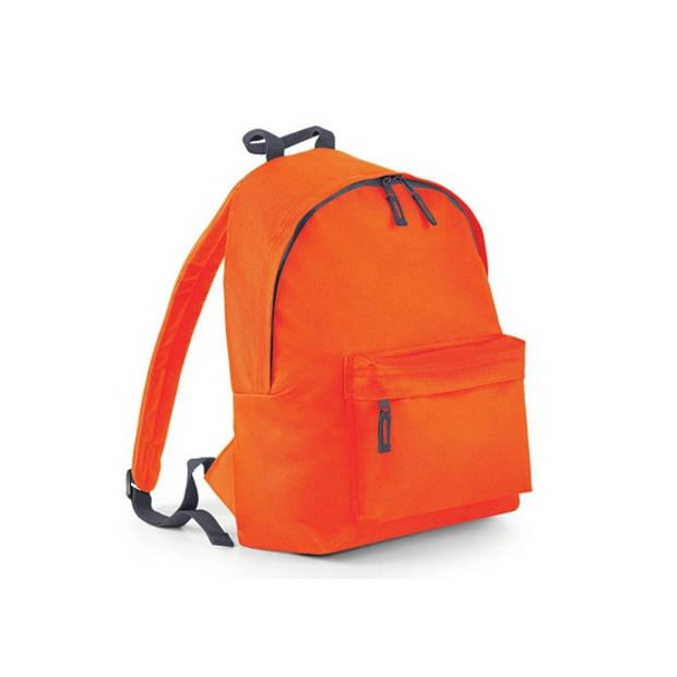 Hippe rugtas met voorvak oranje