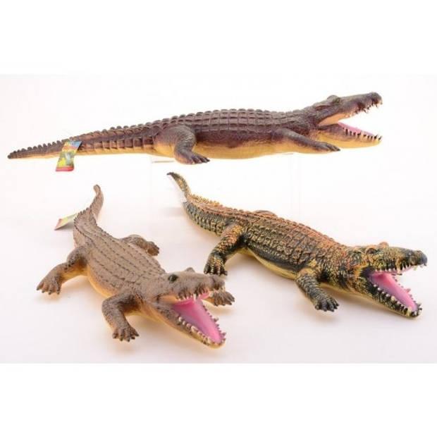 Decoratie krokodil 60 cm