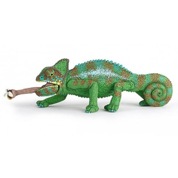 Plastic kameleon 4 cm