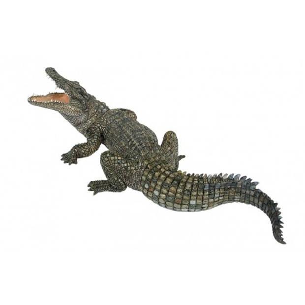 Plastic nijl krokodil 21 cm
