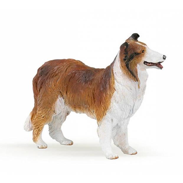 Plastic Lassie hond 6 cm