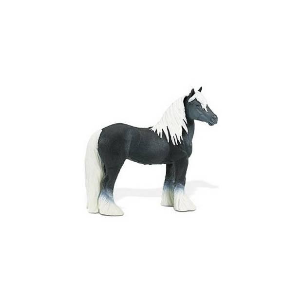 Plastic hengst paard 11,5 cm