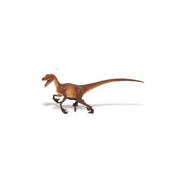 Plastic dinosauris speelfiguur Velociraptor - 21 cm - dino