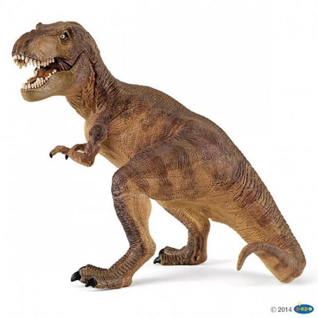 Plastic t-rex dinosaurus 17 cm