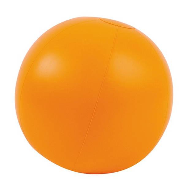 Opblaasbare strandbal oranje 30 cm