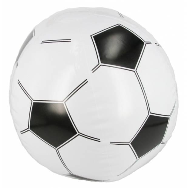 Opblaasbare voetbal strandbal