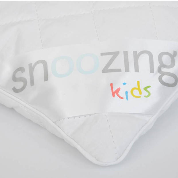 Snoozing - Synthetisch - Kinderkussen - Zacht - 40x60 cm - Wit