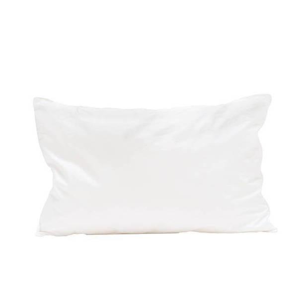 Briljant Baby synthetisch zacht kinderkussen - 100% gesiliconiseerde holle polyester vezel - Wit