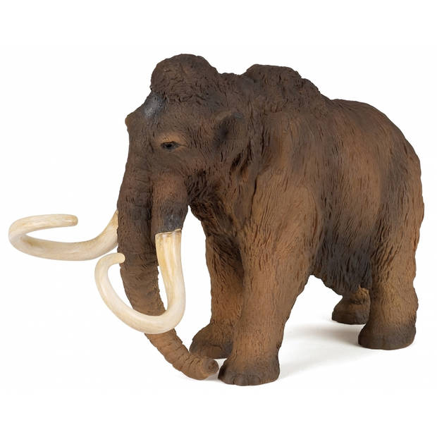 Plastic speelgoed figuur mammoet staand 20 cm