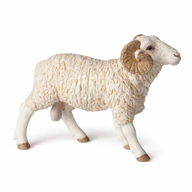 Plastic speelgoed figuur ram schaap staand 8 cm