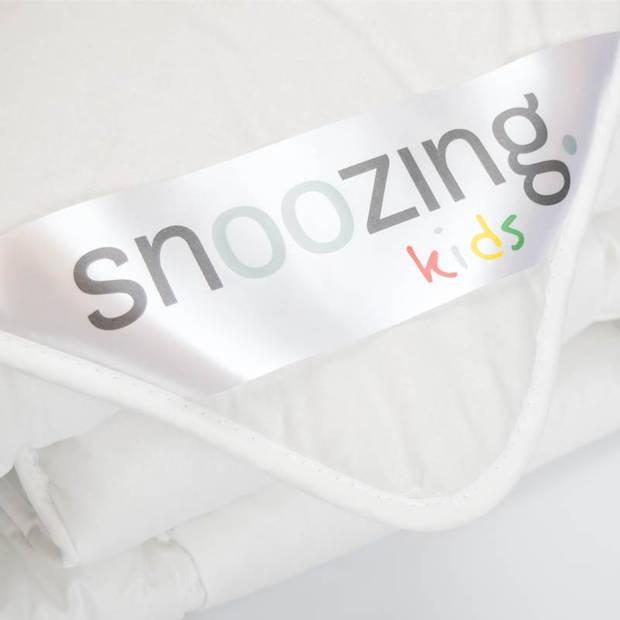 Snoozing Texel - Wol - Kinderdekbed - Ledikant - 100x135 cm - Wit