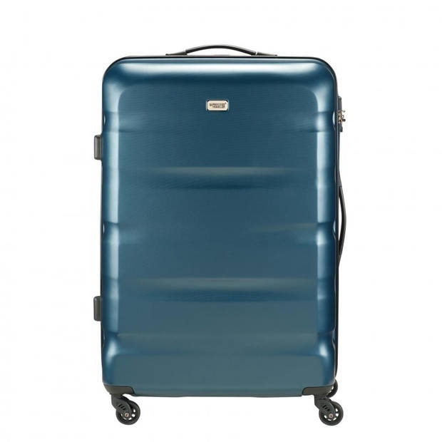 Princess Traveller Los Angeles ABS koffer - L - donkerblauw