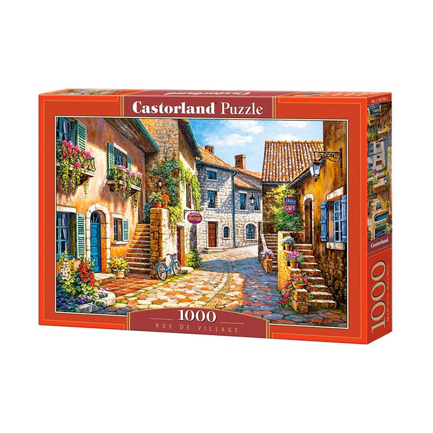 Castorland legpuzzel Rue de village 1000 stukjes
