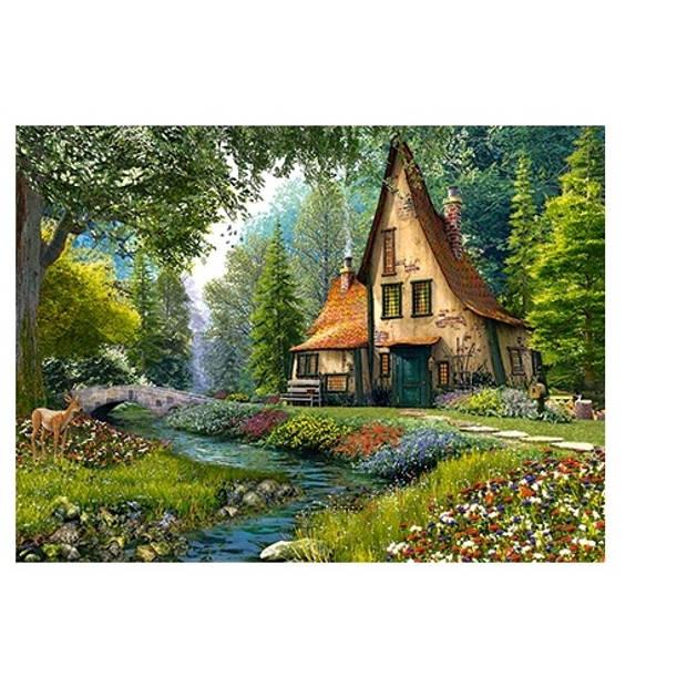Castorland legpuzzel Toadstool cottage 2000 stukjes