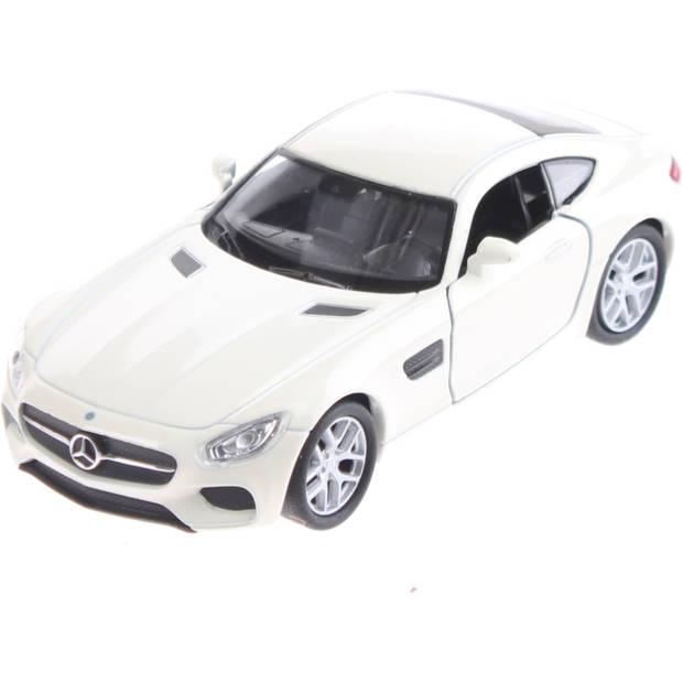 Welly schaalmodel Mercedes-Benz AMG GT wit 11cm