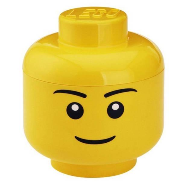 LEGO Iconic Boy groot opbergbox - geel