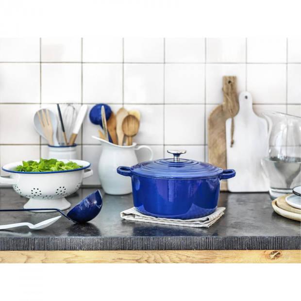 BK Bourgogne braadpan - ø 28 cm - blauw
