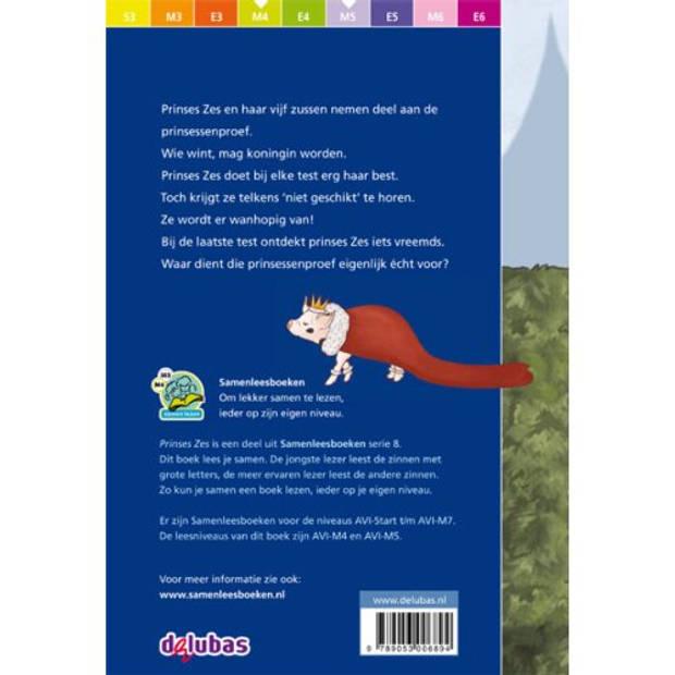 Prinses Zes - Samenleesboeken