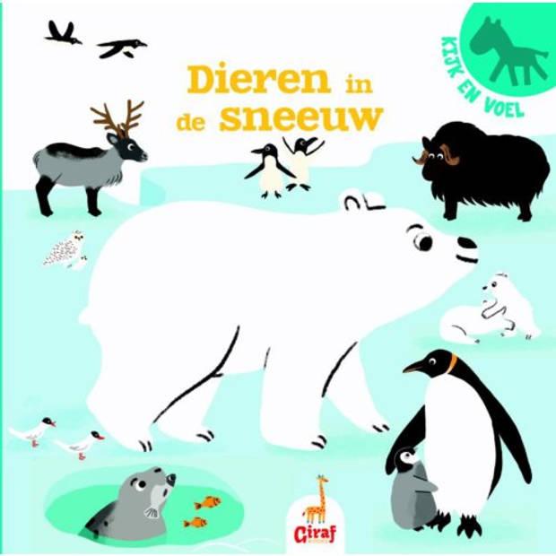 Dieren In De Sneeuw - Kijk En Voel