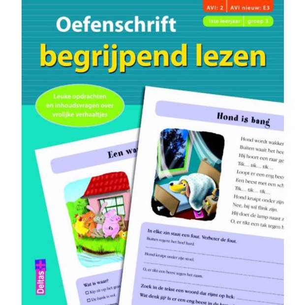Oefenschrift Begrijpend Lezen / Groep 3
