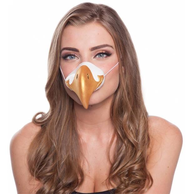 Adelaar dierenneus masker voor volwassenen