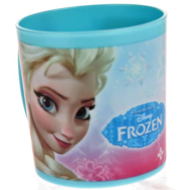 Disney frozen mok 350 ml lichtblauw