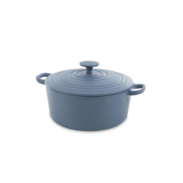 BK Bourgogne braadpan - ø 24 cm - denim blue