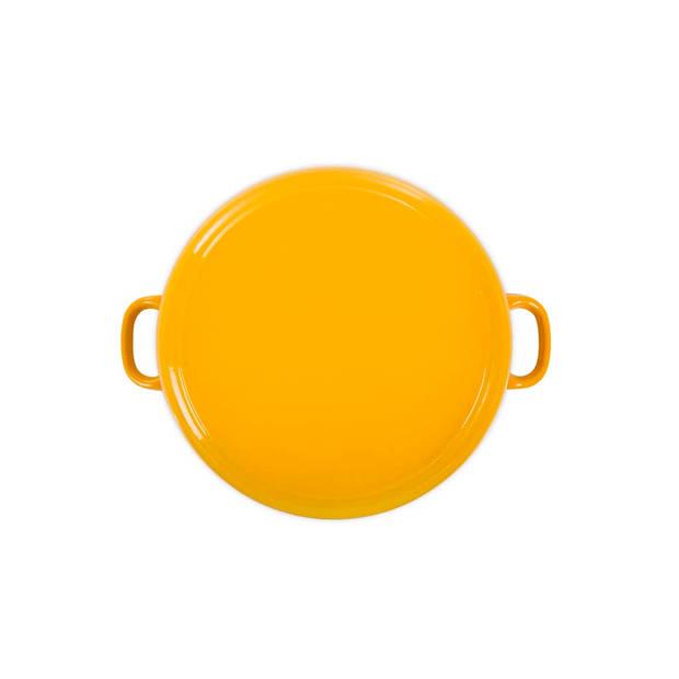 BK Bourgogne braadpan - ø 28 cm - sunny yellow