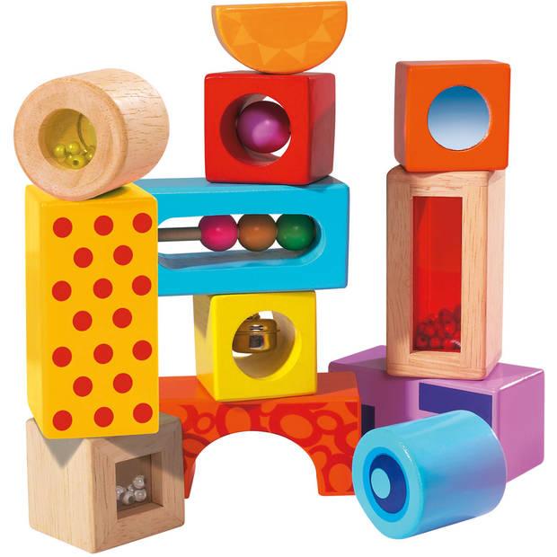 Bouwblokken met geluid